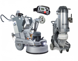 Set of LAVINA 25REU + V25EU vacuum
