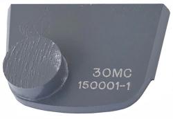 X1B FOR MEDIUM HARD CONCRETE, Superabrasive single (rectangular) diamond segment