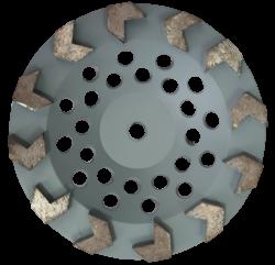 EX Tarcza Diamentowa 125mm do szlifowania XC Turbocup DGWK12 do średnio twardego betonu