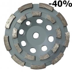 EX Tarcza Diamentowa 125mm do szlifowania XC Turbocup DGW08 do średnio twardego betonu -40%