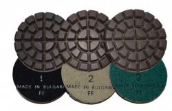 Zestaw 3kroki do polerowania betonu na sucho (1 sztuka)