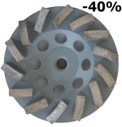 EX Tarcza Diamentowa 125mm do szlifowania XC Turbocup DGW10 do średnio twardego betonu -40%