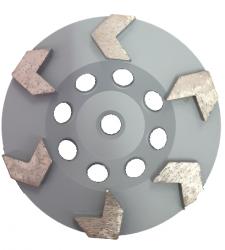 EX Tarcza Diamentowa 125 mm do szlifowania XC Turbocup DGWK6 do średnio twardego betonu