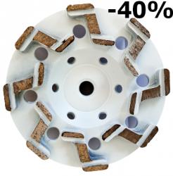 EX Tarcza Diamentowa 125mm do szlifowania XC Turbocup DGWZ do twardego betonu - 40%