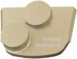 DO BARDZO TWARDEGO BETONU segment diamentowy podwójny (okrągły)