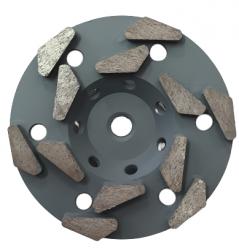 EX Tarcza Diamentowa 125mm do szlifowania XC Turbocup DGW17 do średnio twardego betonu