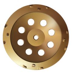 EX Tarcza 180 mm do zdzierania PCD Turbocup z 12 segmentami PCD