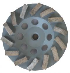 EX Tarcza Diamentowa 125mm do szlifowania XC Turbocup DGW10 do średnio twardego betonu