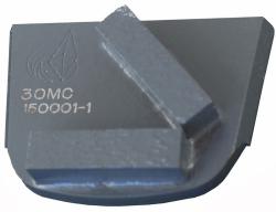 DO ŚREDNIO TWARDEGO BETONU segment diamentowy podwójny (prostokątny)