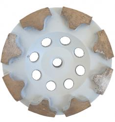 EX Tarcza Diamentowa 125 mm do szlifowania XC Turbocup DGWT5 do twardego betonu