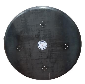 Zestaw dysków do zacieraczki 2x1230mm z 5 głowicami obrotowymi