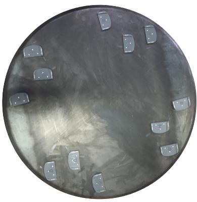 Zestaw dysków do zacieraczki 2x970 mm z 12 holderami XQC Lavina