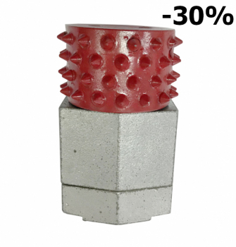 Bush Hammer Long life 60 pinów do zdzierania powierzchni -30%