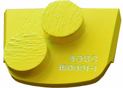 DO MIĘKKIEGO BETONU segment diamentowy podwójny (okrągły)