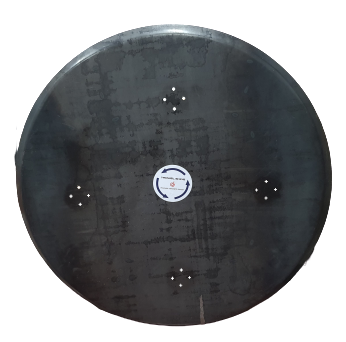 Zestaw dysków do zacieraczki 2x940mm z 4 głowicami obrotowymi