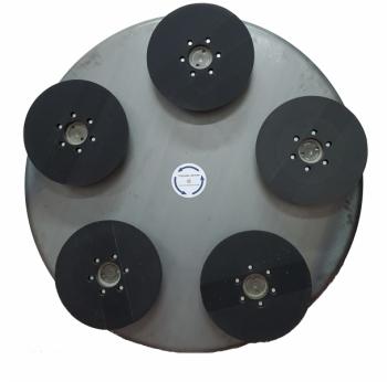 Zestaw Combo 5X do zacieraczek 1230 mm z głowicami Trowel RH