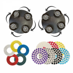 Набор Combo 3X для затирочных машин 900 мм с головками Trowel Shine (правые)