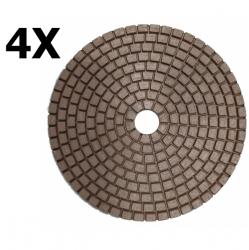 Набор медных дисков 5 дюймов (125 мм) для ручных машин, на липучке