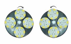 Комплект дисков для затирочной машины 2х920мм с 4-мя вращающимися головками